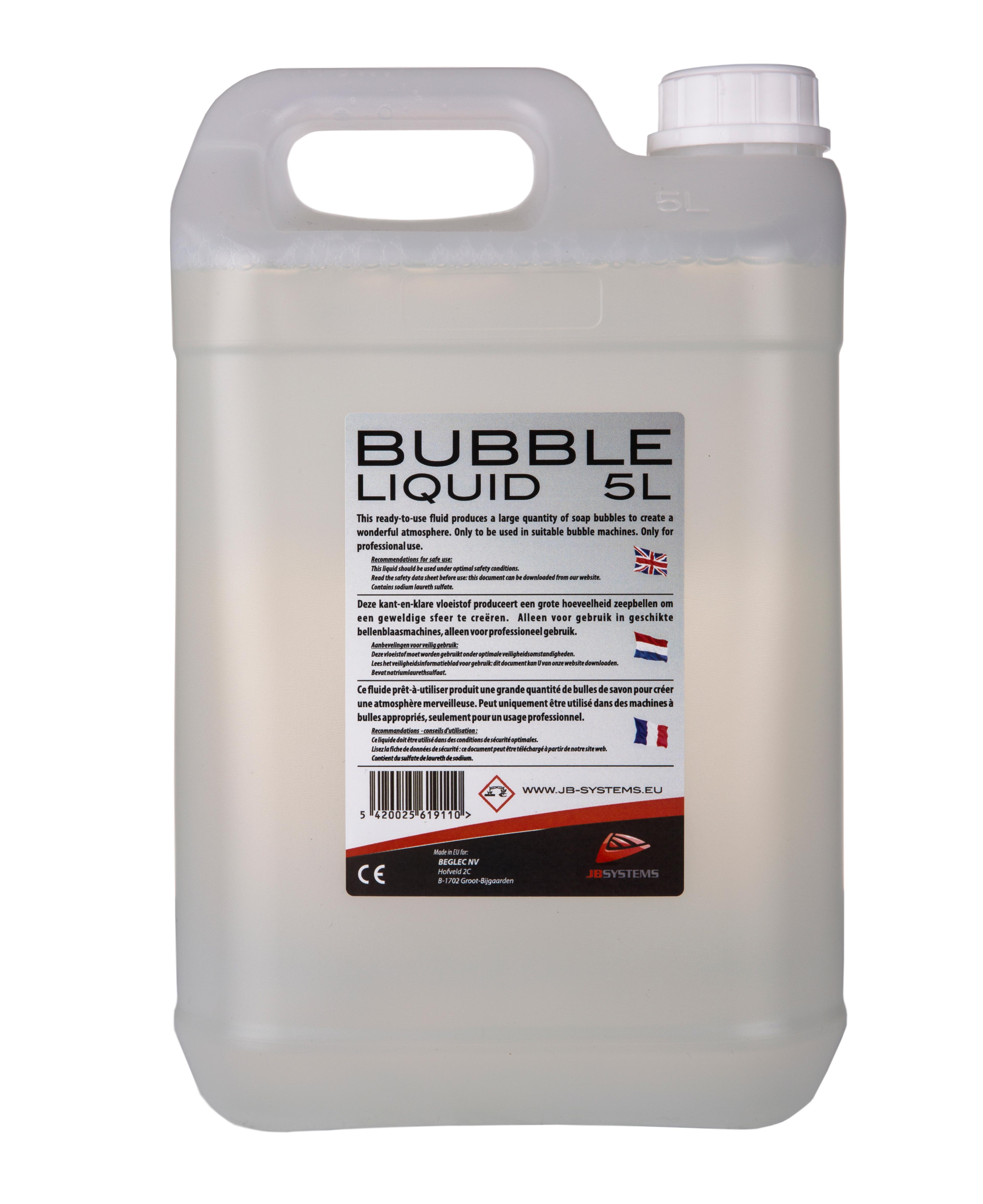 bubble machine liquid
