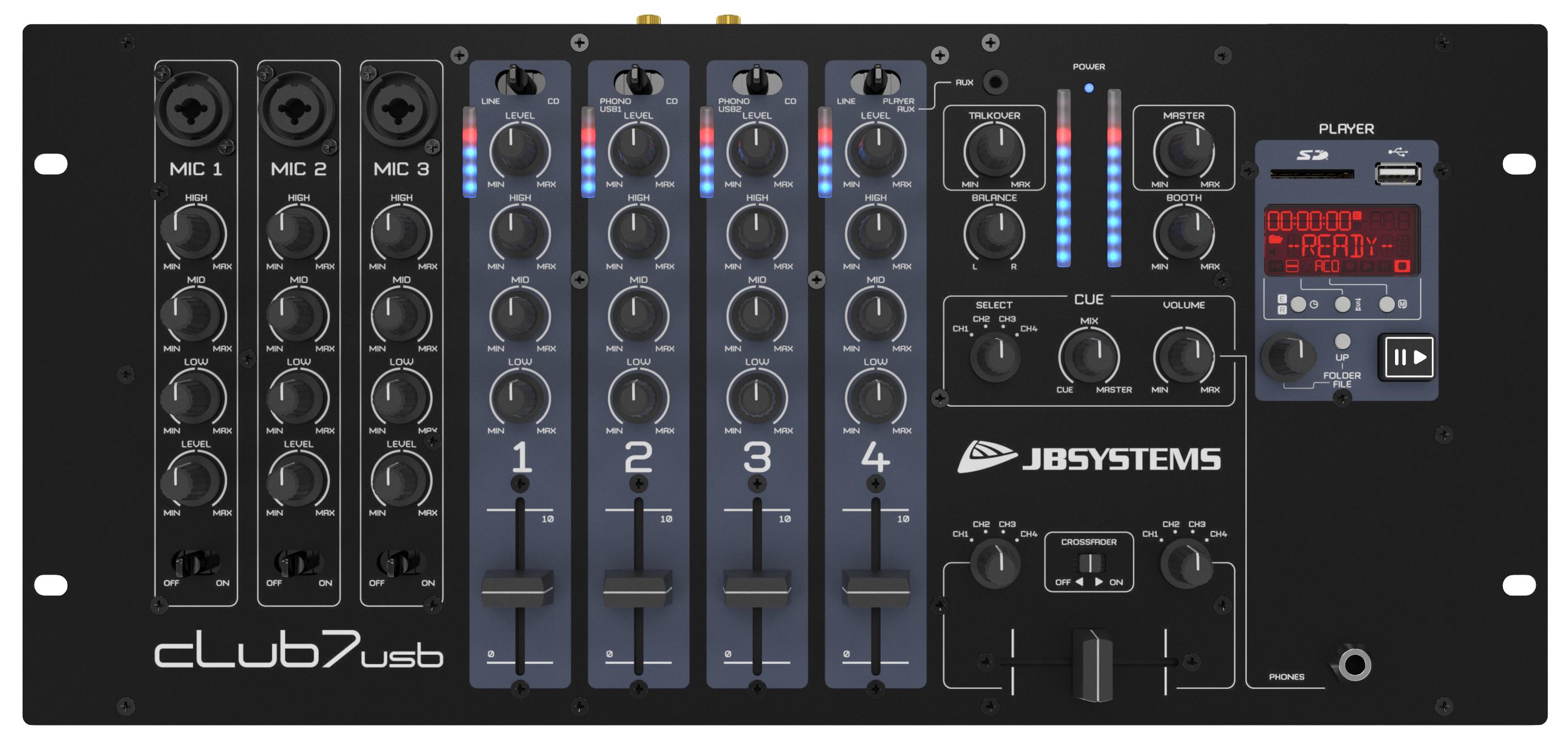 Jb Systems Club7 Usb Dj Mixers