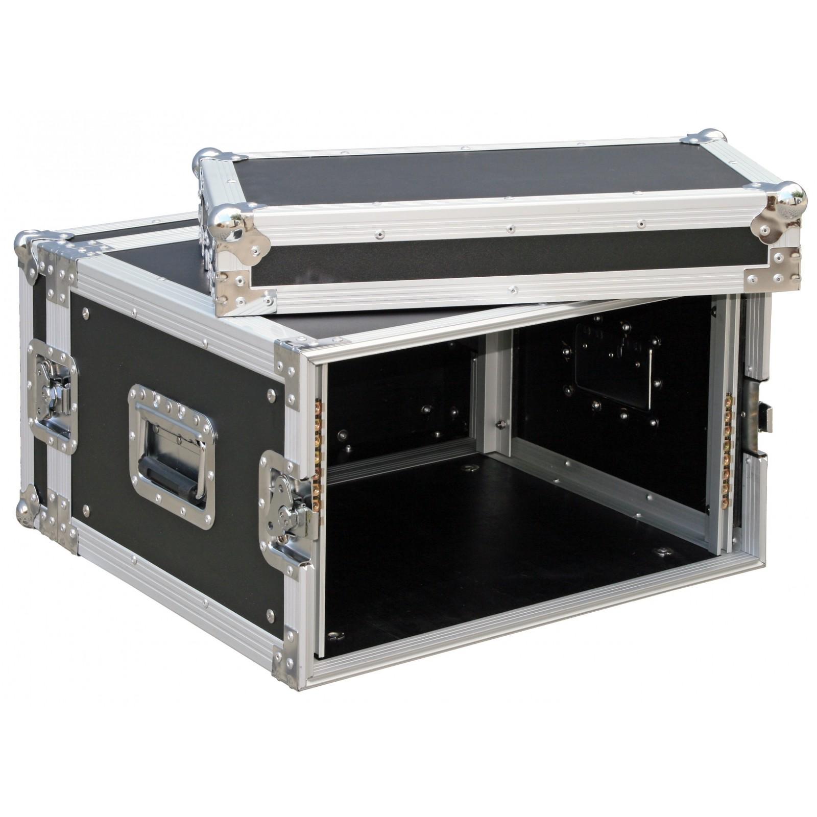 Jb systems rack case 6u flightcases for Rack mural 6u
