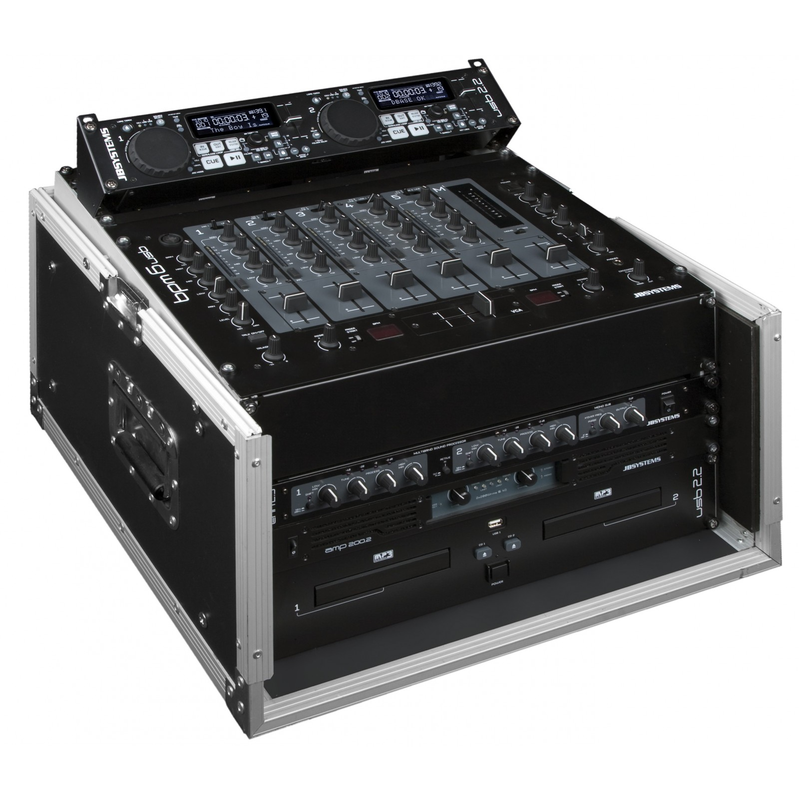 JB Systems - DJ CASE 10/6U