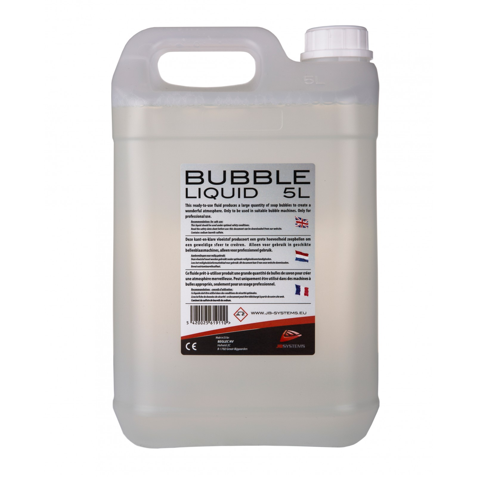 Jb Systems Bubble Liquid 5l