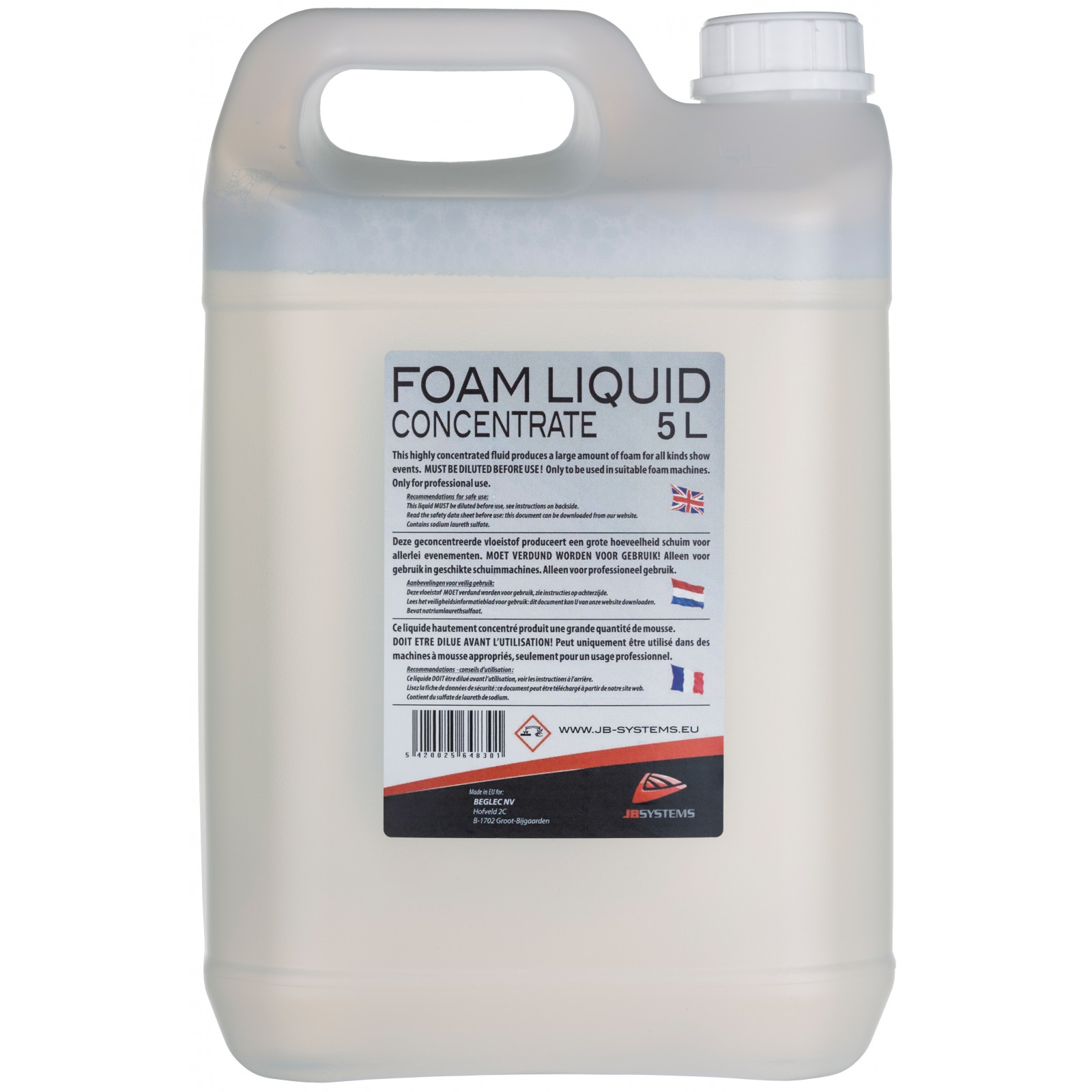 foam liquid for foam machine