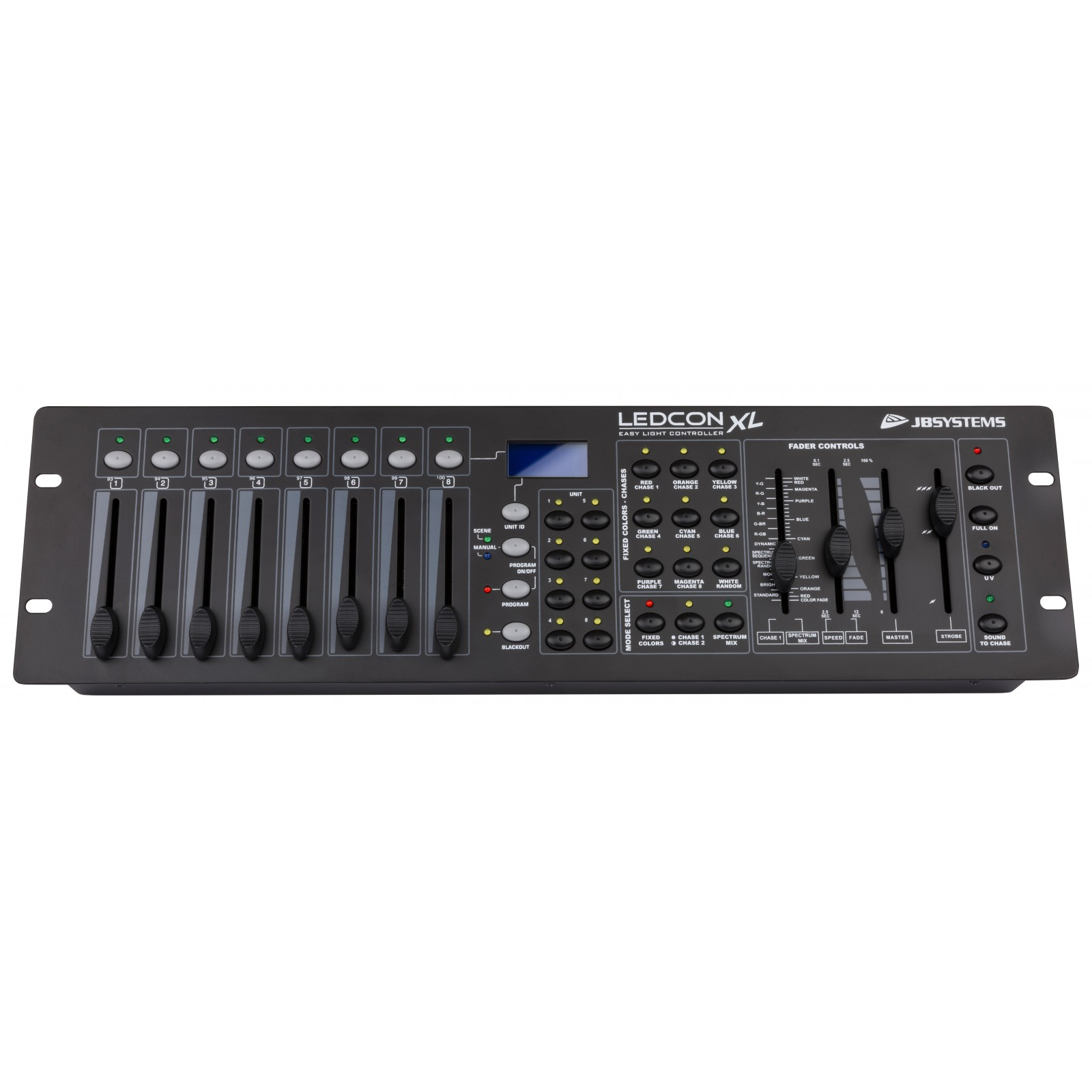 Can Case Xl Manual With An External Amplifier You Need To Supply A Speakers Sp2003 Array Jb Systems Ledcon Light Controllers Rh Eu