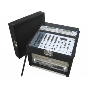 CARPET DJ MIXER CASE 5U+11U open view