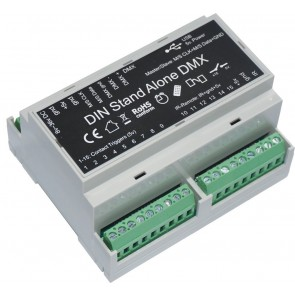 F1 LD-512DIN - DMX interface