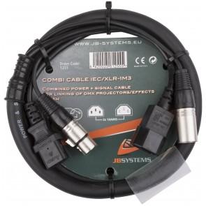 COMBI CABLE IEC/XLR-1M3
