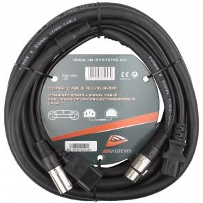 COMBI CABLE IEC/XLR 5M