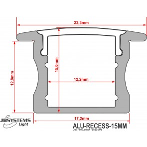 ALU-RECESS-15MM (2M)
