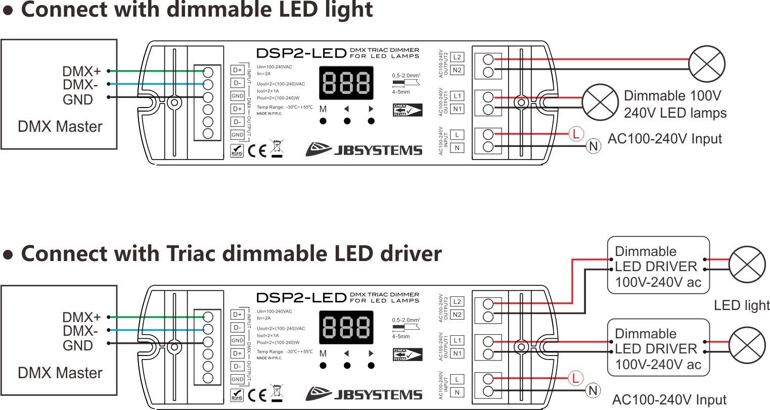 Jb Systems Dsp2 Led