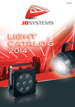 JB Systems Light Catalog 2014 - French / Dutch