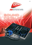 JB Systems Sound Catalog 2015 - French / Dutch