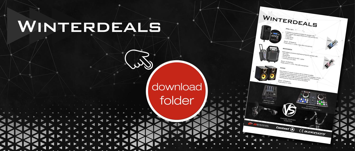 JB SYSTEMS : Download Winterdeals Folder