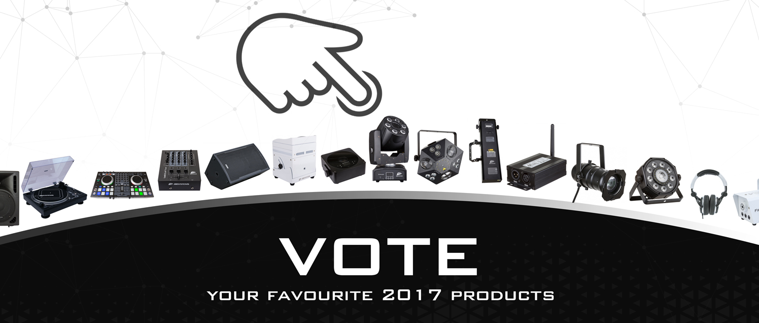 JB SYSTEMS : your 3 favourite products