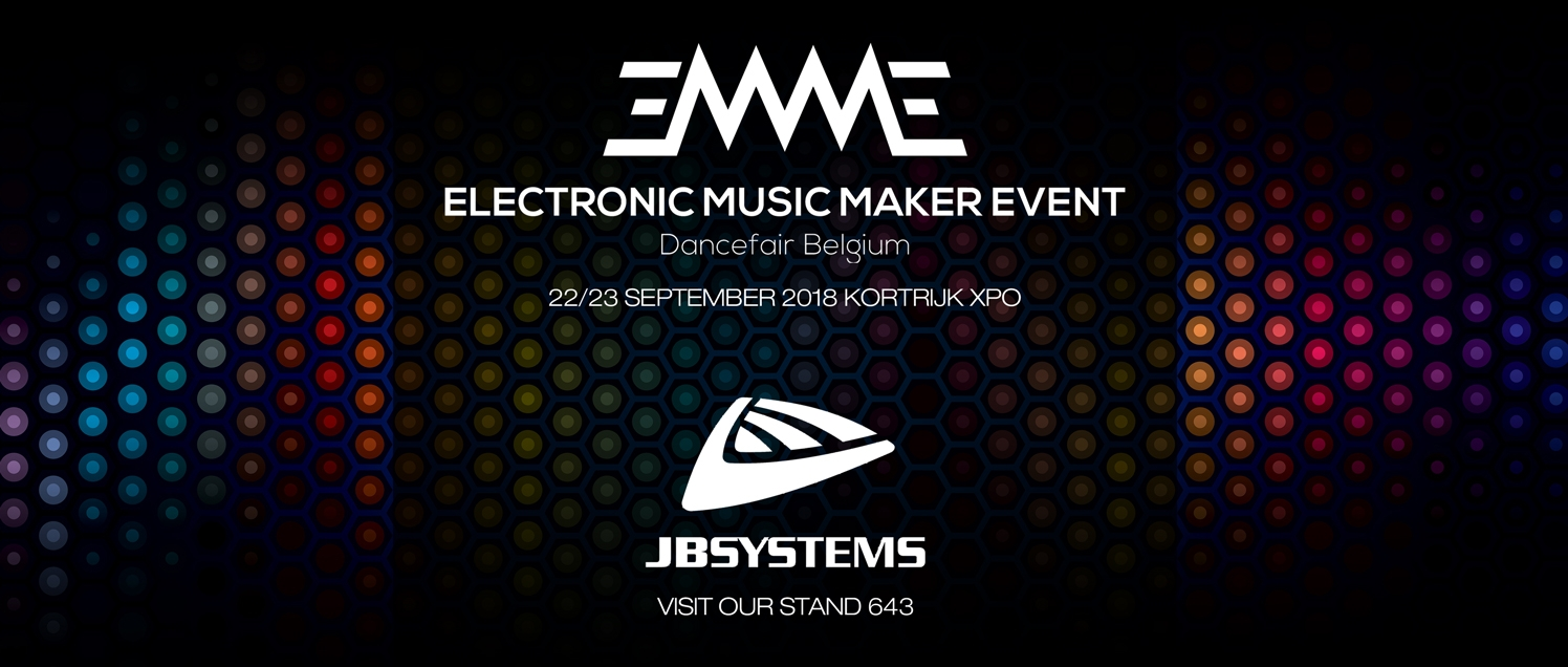 JB Systems - Visit our stand on EMME