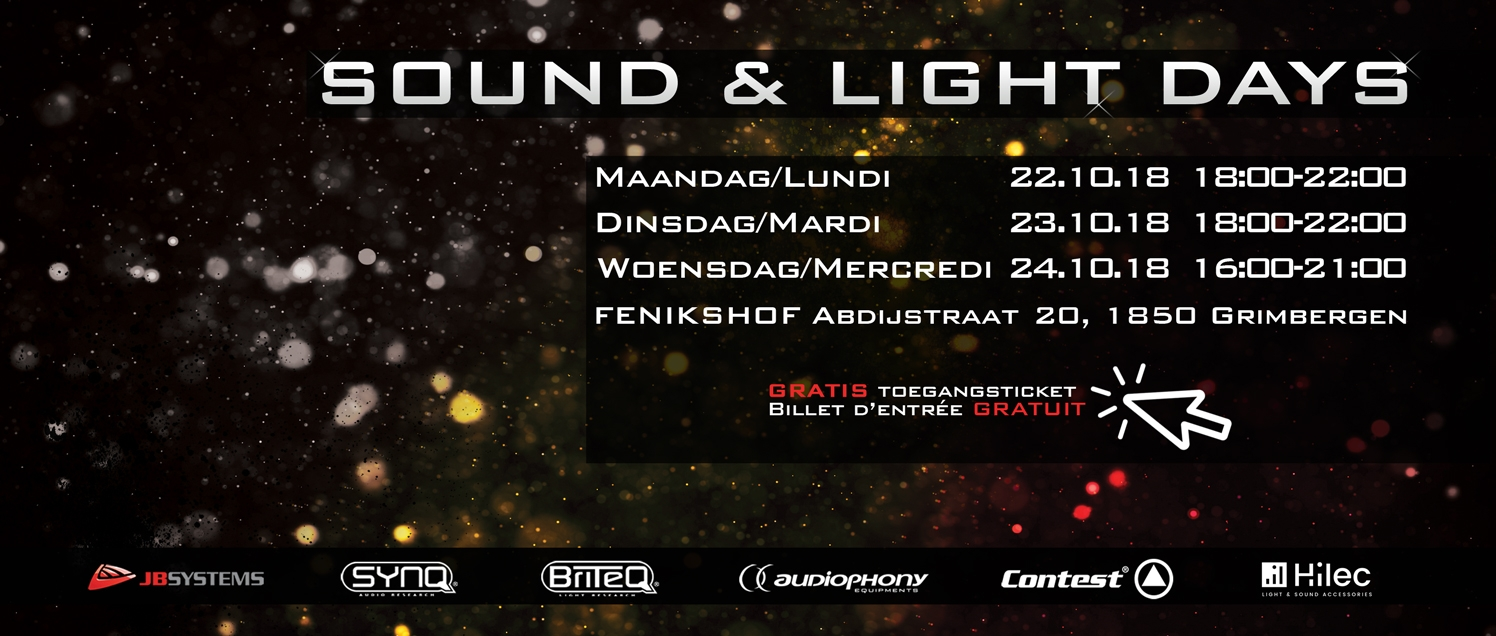Sound & Light Days 2018